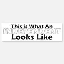 Independent Bumper Bumper Bumper Sticker