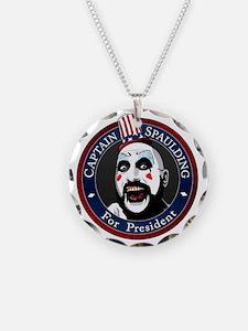 Captain Spaulding for Presid Necklace