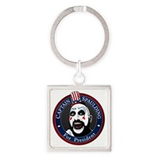 Captain Spaulding for President Square Keychain