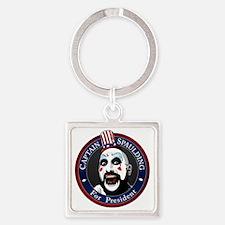 Captain Spaulding for President Square Keychain