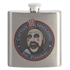 Captain Spaulding for President Flask