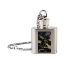 Dragons hoard Flask Necklace