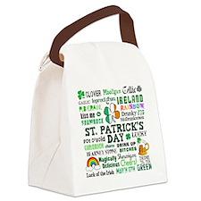St Patricks Canvas Lunch Bag