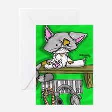 Stitch Kitten Greeting Card