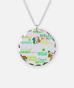 Phrases -dk Necklace