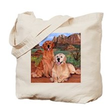 twodogs9x12h Tote Bag