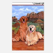 twodogs_thanknote Postcards (Package of 8)