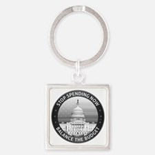 aug11_congress_capitol Square Keychain