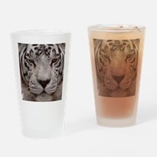 (15) White Tiger 4 Drinking Glass