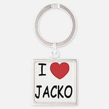 JACKO Square Keychain
