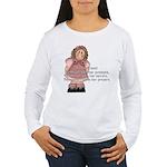 A True Friend... Women's Long Sleeve T-Shirt