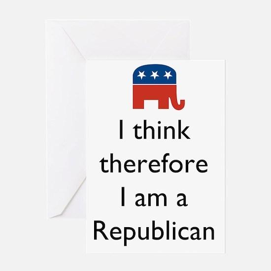ThinkRepublican1 Greeting Card