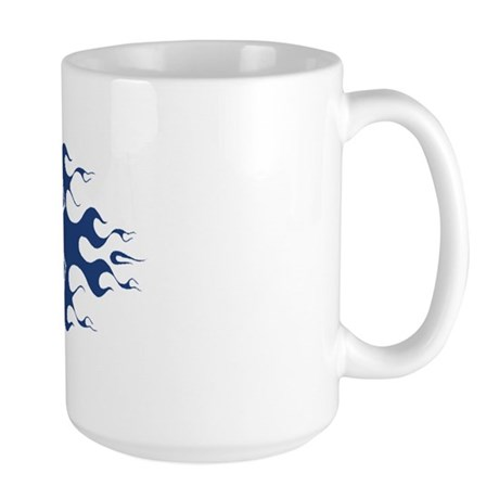 Flaming Medic Large Mug