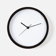 squash-black Wall Clock