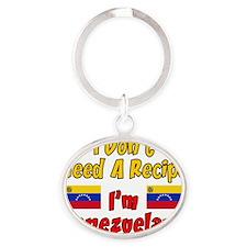 Dont Need Recipe Venezuelan Oval Keychain