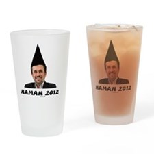 Haman 2012 flat Drinking Glass