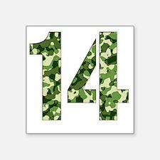 """14 Square Sticker 3"""" x 3"""""""