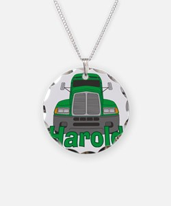 harold-b-trucker Necklace Circle Charm
