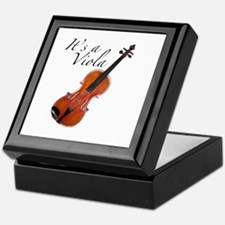 It's a Viola Keepsake Box