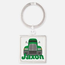 jaxon-b-trucker Square Keychain