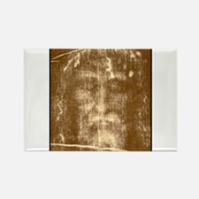 Shroud of Turin Rectangle Magnet