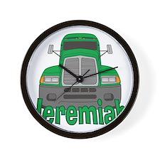 jeremiah-b-trucker Wall Clock