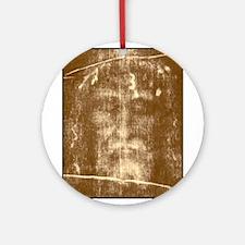 Shroud of Turin Ornament (Round)