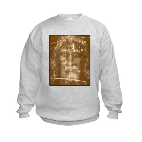 Shroud of Turin Kids Sweatshirt