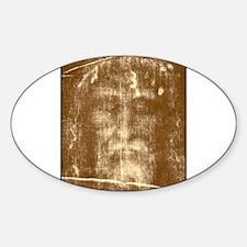 Shroud of Turin Oval Decal