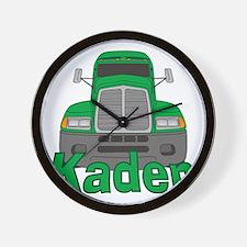 kaden-b-trucker Wall Clock