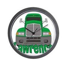 lawrence-b-trucker Wall Clock