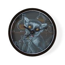 Pirate Lemur Wall Clock