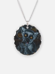 Pirate Lemur Necklace