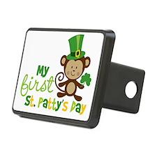 Monkey1stStPatricksDay Rectangular Hitch Cover