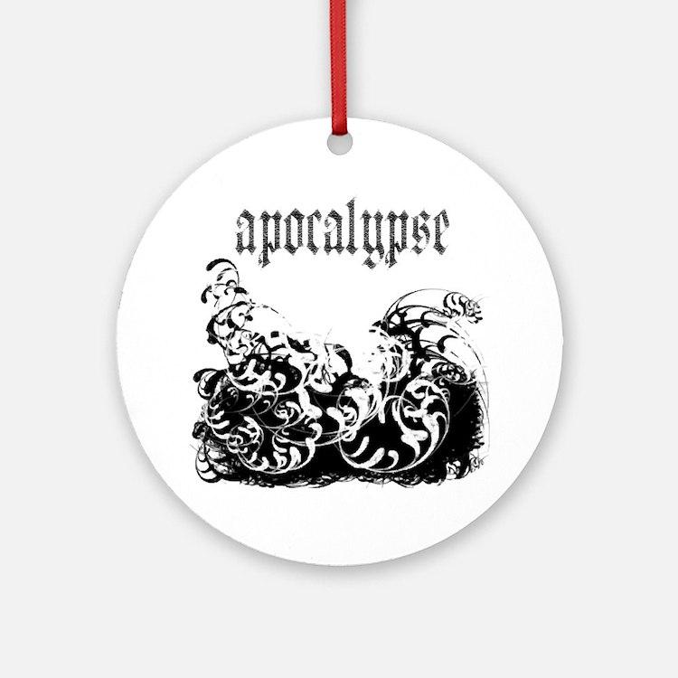 apocalypse1 Round Ornament