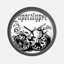 apocalypse1 Wall Clock