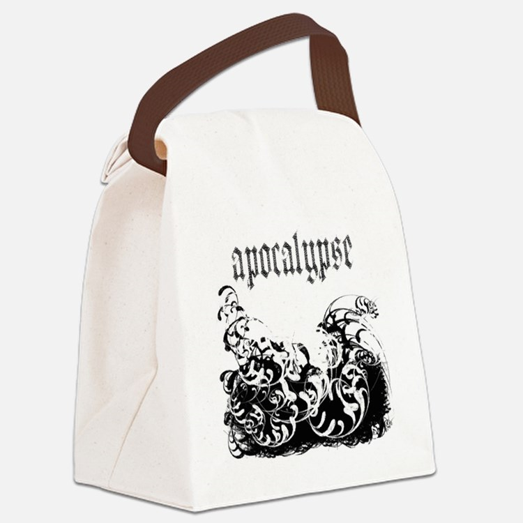 apocalypse1 Canvas Lunch Bag