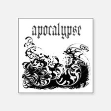 "apocalypse1 Square Sticker 3"" x 3"""