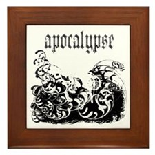 apocalypse1 Framed Tile