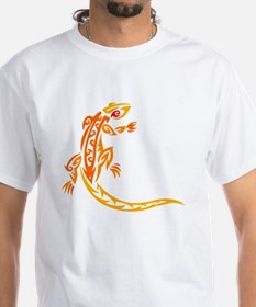 Lizard orange 10x10 Shirt
