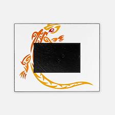 Lizard orange 10x10 Picture Frame