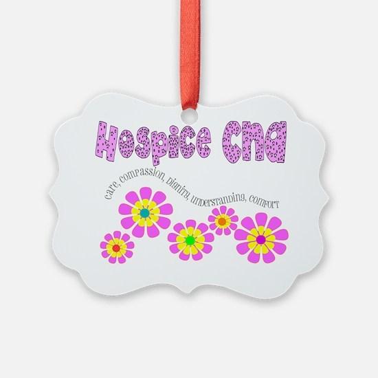 Hospice CNA Pink Ornament