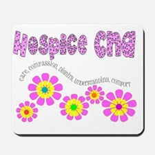 Hospice CNA Pink Mousepad