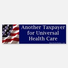 Another Taxpayer for Universal Health Care