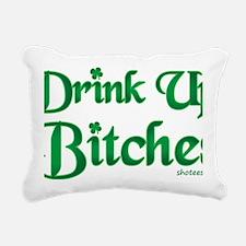 clover bitches4 Rectangular Canvas Pillow