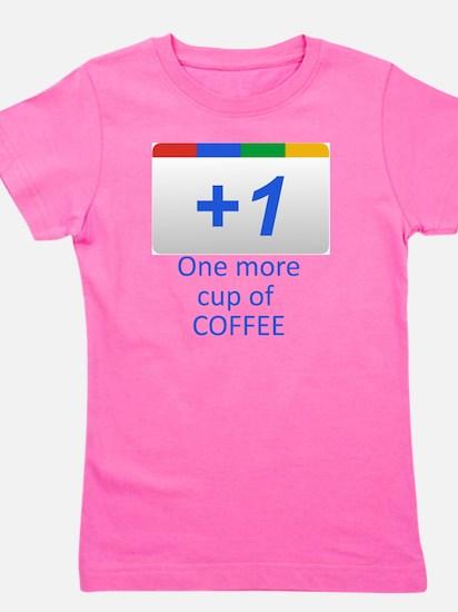 Plus 1 Coffee Girl's Tee