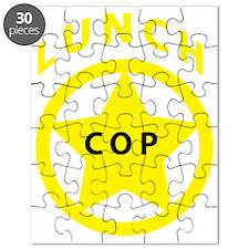 LunchCopShirtBadge Puzzle