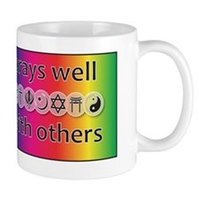 prays-well-with-others-journal Mug