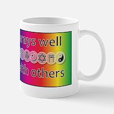 prays-well-with-others-journal Mug
