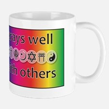 prays-well-with-others-journal Small Small Mug